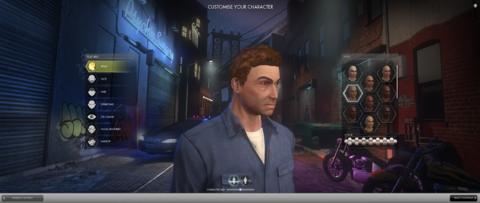 Character creation - Head