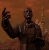 Statue de Wicker