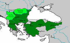 L'empire ottoman en 1451