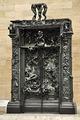 La porte de l'Enfer de Rodin