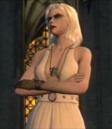 Mara transformée en vampire