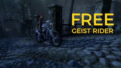 La moto Geist Rider offerte