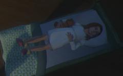 Emma endormie