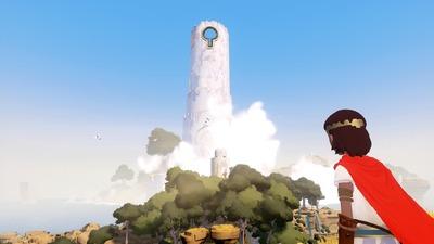 Cette tour domine toute l'île, sûrement la clef du mystère.