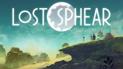 Lost Sphear - Title Screen