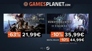 Solde record sur Monster Hunter World