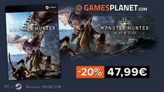 Bon plan : -20% sur la précommande de Monster Hunter World sur PC