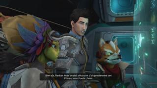 Starfox est complètement intégré au scénario, si bien qu'on dirait que le jeu est un spin-off sorti exclusivement sur Switch.