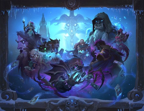 HearthStone: Knights of the Frozen Throne - Blizzard annonce HearthStone: Knights of the Frozen Throne