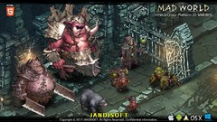 Le MMORPG en HTML5 Mad World illustre son gameplay PvE et PvP