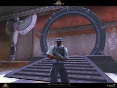 Archéologue sur la planète Menfa (intérieur)