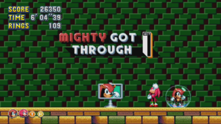 Mighty, popularisé dans Knuckles' Chaotix, est de retour !
