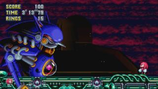 Certains ennemis ont été retravaillés. Par exemple, ce petit Metal Sonic