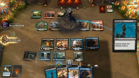 Magic The Gathering Arena - Test de Magic The Gathering Arena - Un nouveau tour de Magic