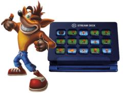 Elgato a mis à dipsosition un pack de boutons Crash pour la sortie de la version remasterisée