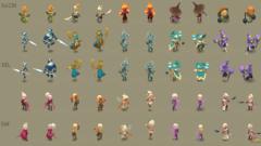 Apparences de personnages