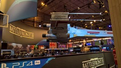 PGW2017 - Stand Playstation - Battlefront 2