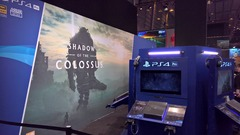 PGW2017 - Stand Playstation - Shadow of the Colossus