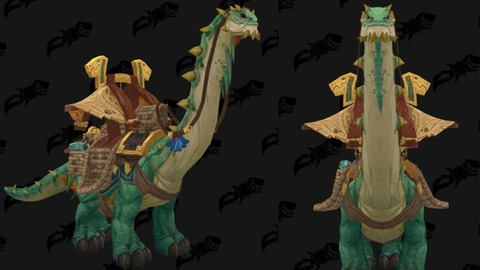 World of Warcraft: Battle for Azeroth - Mighty Caravan Brutosaur, la monture à cinq millions de pièces d'or de Battle for Azeroth