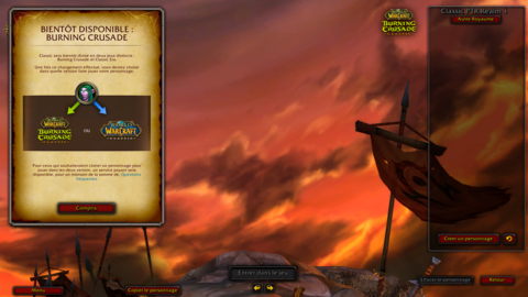 World of Warcraft Classic - Un leak de la date du pré-patch de The Burning Crusade: Classic ?