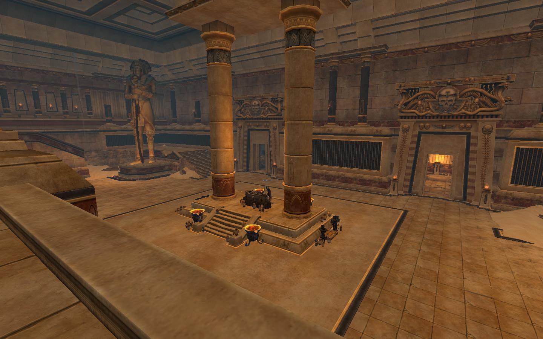 Warhammer Online - Terre des Morts : l\'intérieur de la Tombe du ...