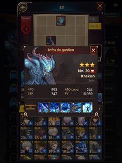 Kraken (Ruine du Chaos) du Sanctuaire mystérieux