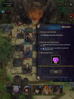 """Mode """"Aventure"""" : les missions"""