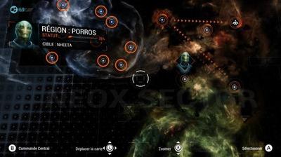 La carte du secteur est vaste : près de 100 missions vous attendent.