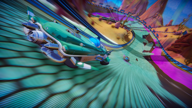 Test de Trailblazers - Quand Splatoon et Wipeout se rencontrent