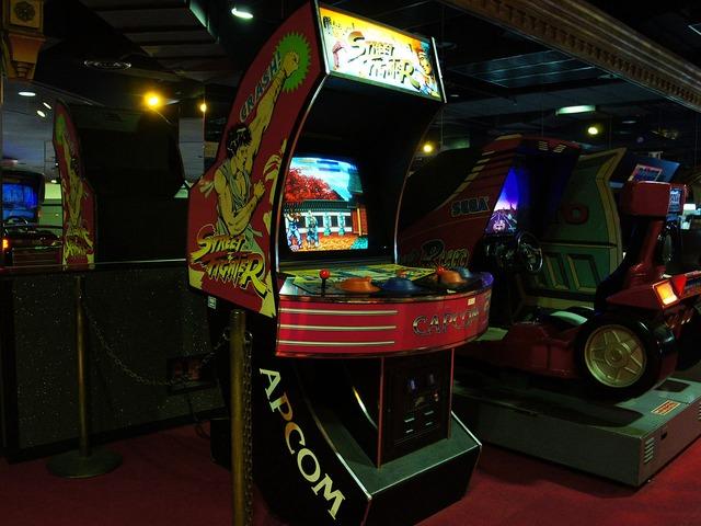 Borne d'arcade SF1 @Nostalgie