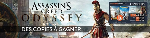 Assassin's Creed: Odyssey - Des éditions « Standard » et « Gold » d'Assassin's Creed Odyssey à gagner