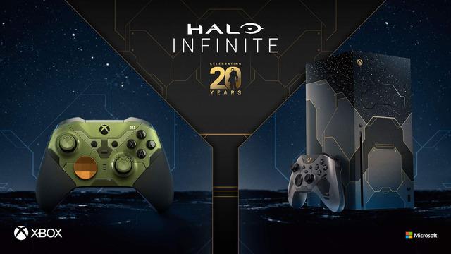 Edition limitée de la Xbox Series X aux couleurs d'Halo Infinite