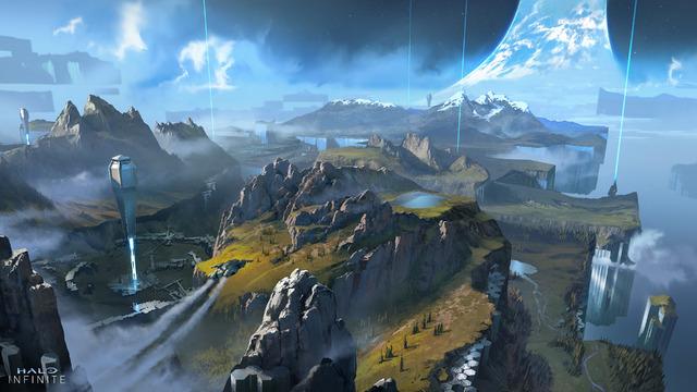 Concept Art XGS - Halo Infinite