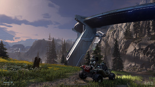 Halo Infinite - Images conceptuelles et captures d'écran de la version PC - Février 2021