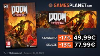 Promotions Gamesplanet : DOOM Eternal