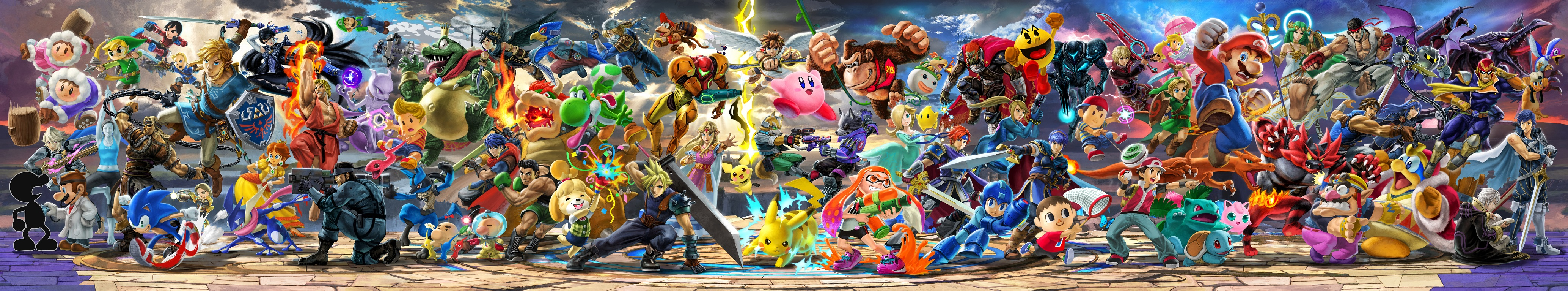 Test Super Smash Bros Ultimate - Bannière