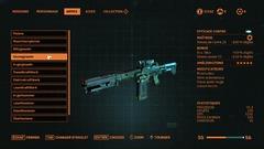 Les armes ont chacune leurs mods et statistiques