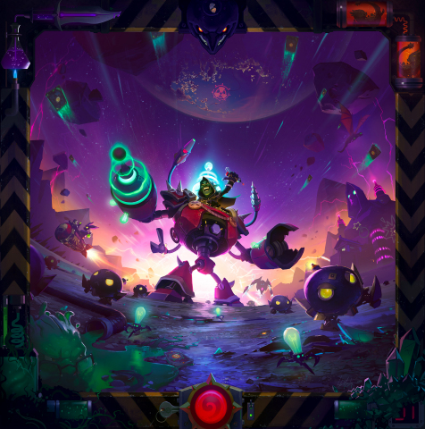 Hearthstone: The Boomsday Project - Hearthstone esquisse sa prochaine extension, le Projet Armageboum