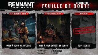 Remnant: From the Ashes : feuille de route 2020