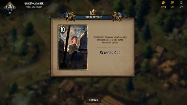 Thronebreaker - Carte Gwent