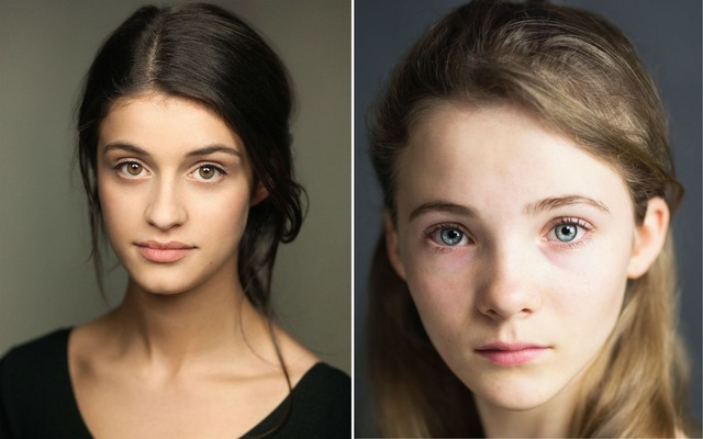 Freya Allan (Ciri) and Anya Chalotra (Yennefer)