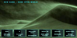 Dune open world