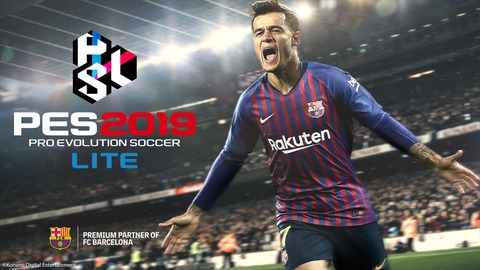 PES 2019 - Pro Evolution Soccer 2019 Lite est disponible en free-to-play