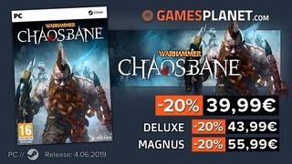 Warhammer Chaosbane en promotion
