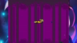 Ce fond violet s'avère très rapidement désagréable à l'oeil...