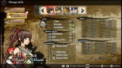 L'interface des personnages, beaucoup d'informations, mais toutes pertinentes