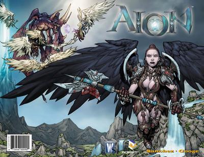 Couverture du comics Aion