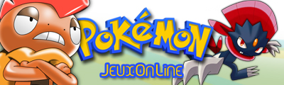 Ouverture de la section Pokémon