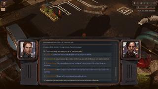 Différentes options de dialogue