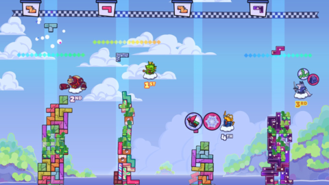 Tricky Towers - Test de Tricky Towers - Quand Tetris rencontre Jenga, cela peut donner Tricky Towers